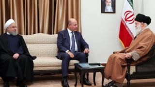 آیتالله خامنهای در دیدار با رئیس جمهور عراق خواهان حفظ 'حشد شعبی' شد - 1