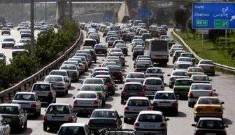 ترافیک پرحجم در مسیر آزادراه «کرج  قزوین» و «قزوین  رشت»
