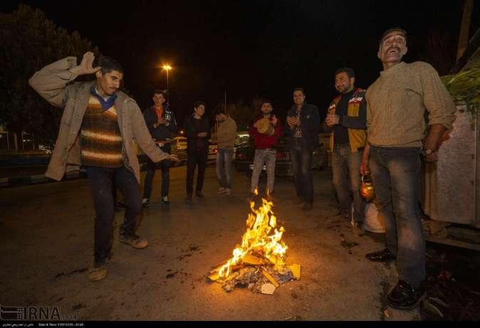 تصاویر| چهارشنبهسوری در استانها - 15