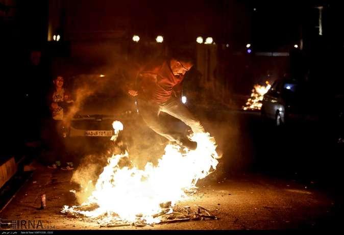 تصاویر| چهارشنبهسوری در استانها - 46