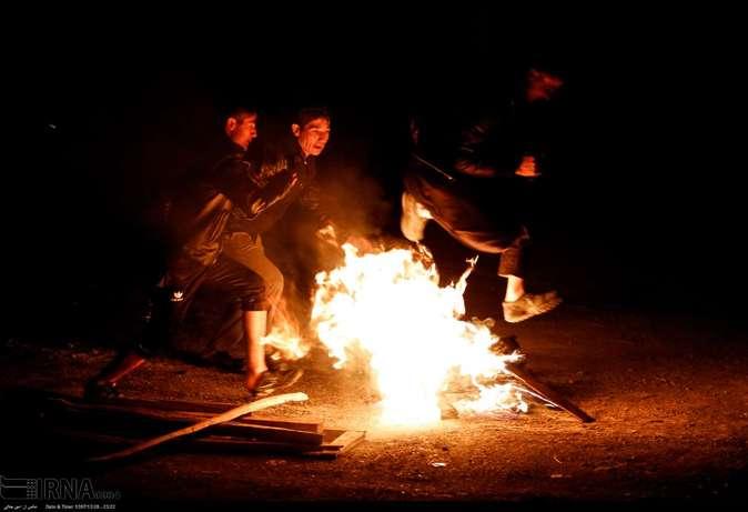 تصاویر| چهارشنبهسوری در استانها - 45