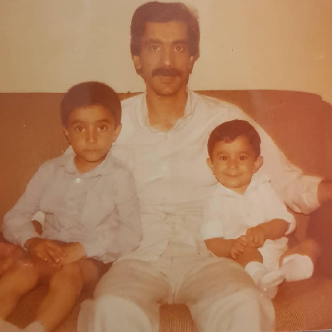 عکس زیرخاکی مجری تلویزیون کنار پدرش - 2
