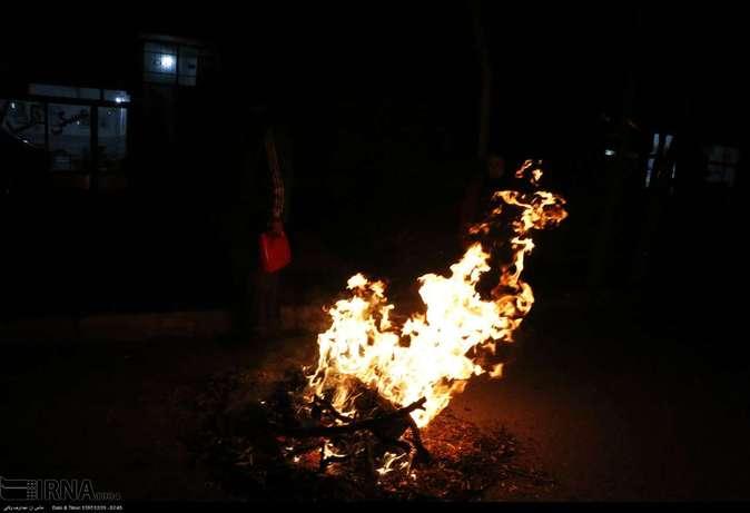 تصاویر| چهارشنبهسوری در استانها - 30