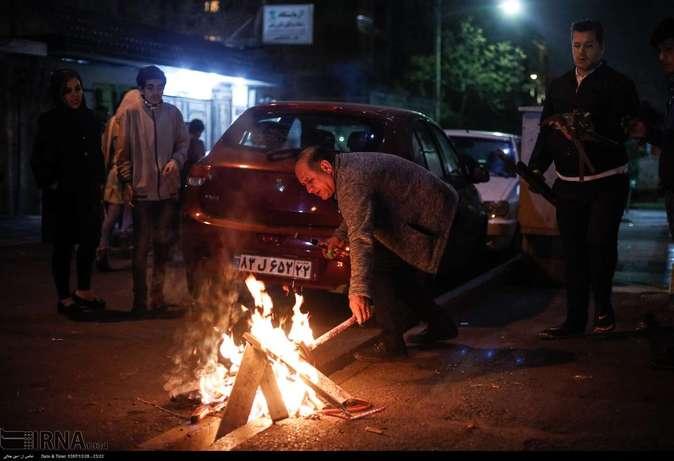 تصاویر| چهارشنبهسوری در استانها - 50
