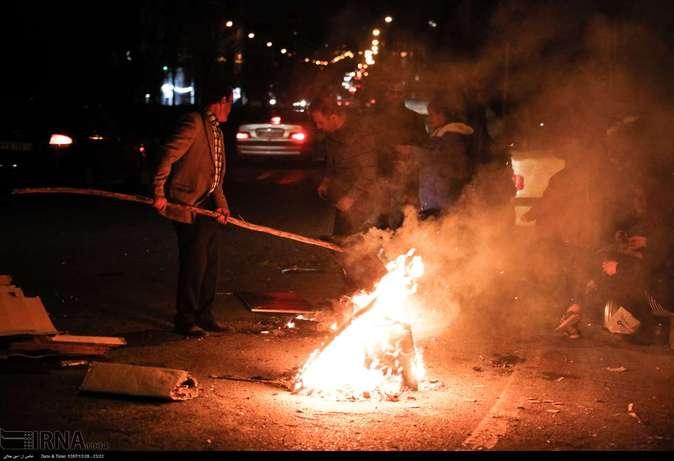 تصاویر| چهارشنبهسوری در استانها - 39