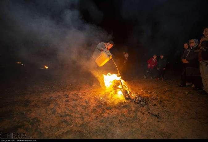 تصاویر| چهارشنبهسوری در استانها - 14