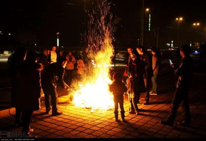 تصاویر| چهارشنبهسوری در استانها - 7