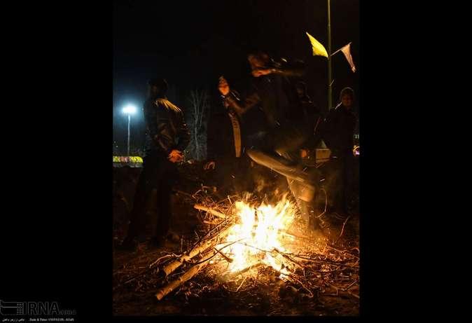 تصاویر| چهارشنبهسوری در استانها - 24