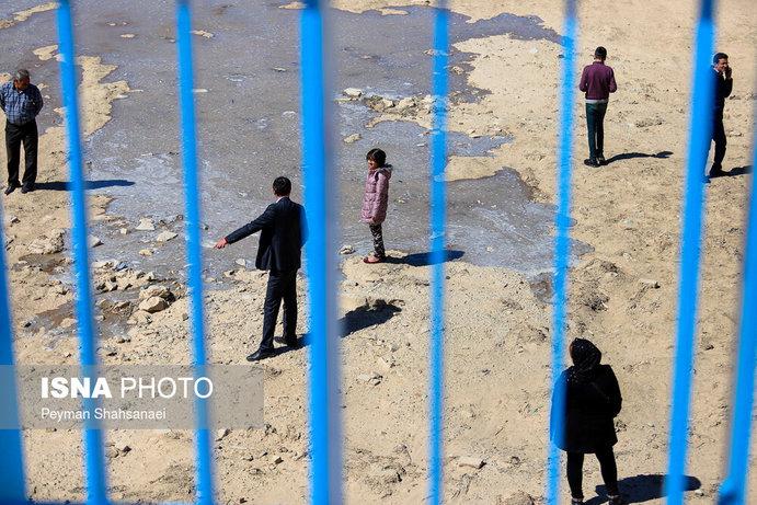 جاری شدن آب در زاینده رود نشاط نوروزی را دو چندان کرد+تصاویر - 22