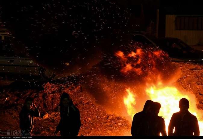 تصاویر| چهارشنبهسوری در استانها - 29