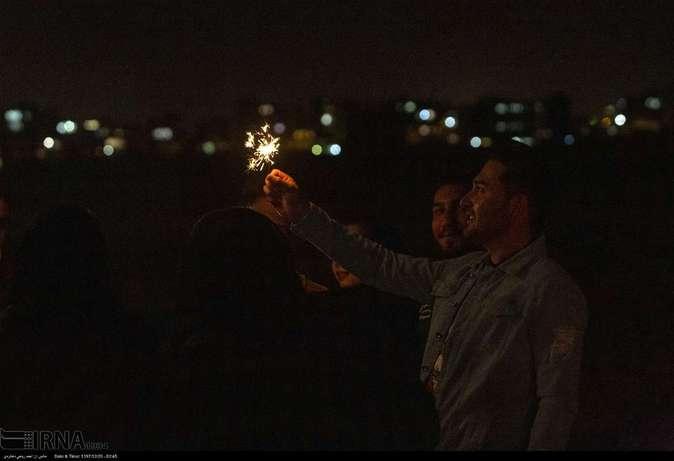 تصاویر| چهارشنبهسوری در استانها - 18