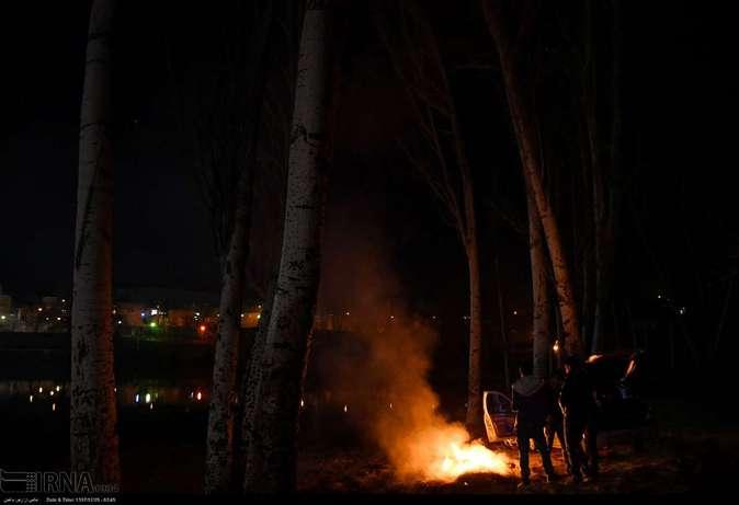 تصاویر| چهارشنبهسوری در استانها - 4