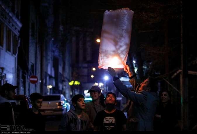 تصاویر| چهارشنبهسوری در استانها - 49