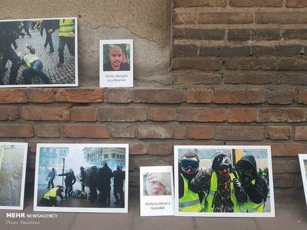 تجمع مقابل سفارت فرانسه در تهران+عکس - 18