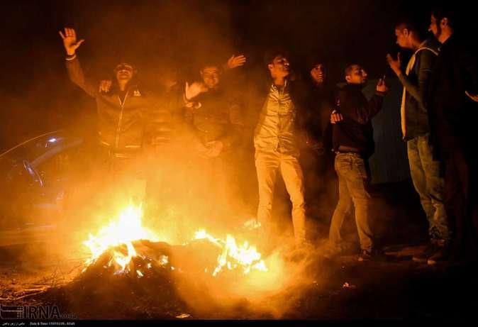 تصاویر| چهارشنبهسوری در استانها - 22