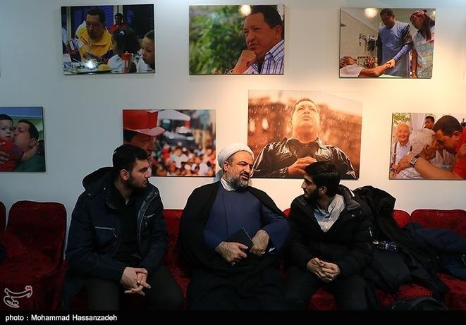 تصاویر| رسایی و اللهکرم در سفارت ونزوئلا - 1