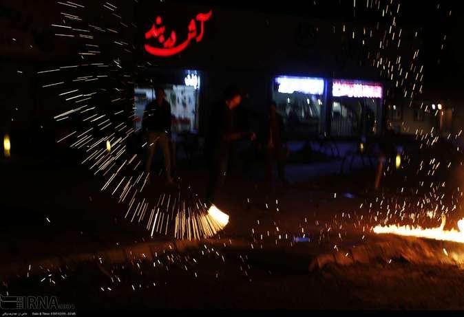 تصاویر| چهارشنبهسوری در استانها - 32
