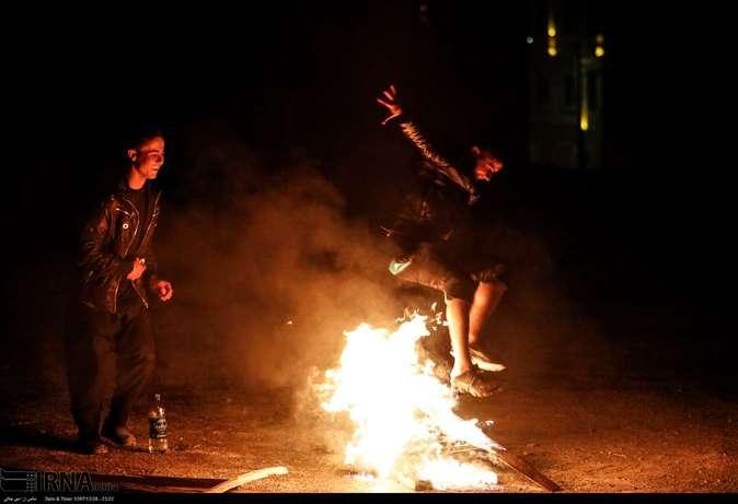 تصاویر| چهارشنبهسوری در استانها - 44