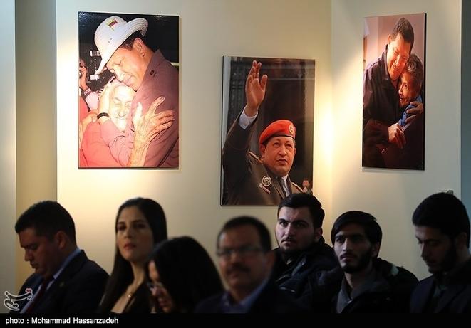 تصاویر| رسایی و اللهکرم در سفارت ونزوئلا - 11