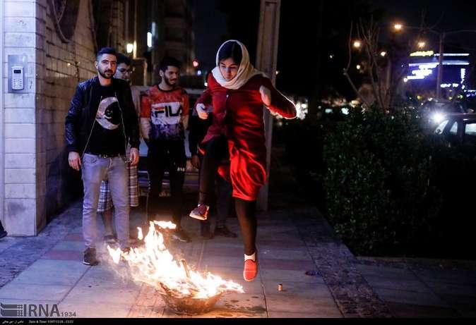 تصاویر| چهارشنبهسوری در استانها - 42