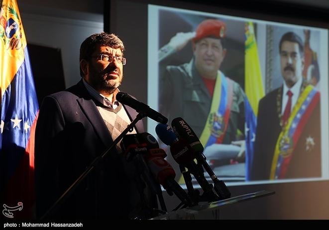 تصاویر| رسایی و اللهکرم در سفارت ونزوئلا - 12