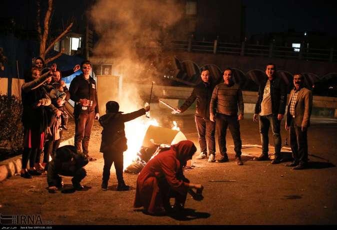 تصاویر| چهارشنبهسوری در استانها - 40