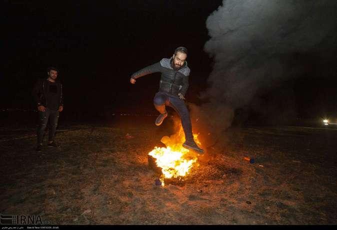 تصاویر| چهارشنبهسوری در استانها - 12