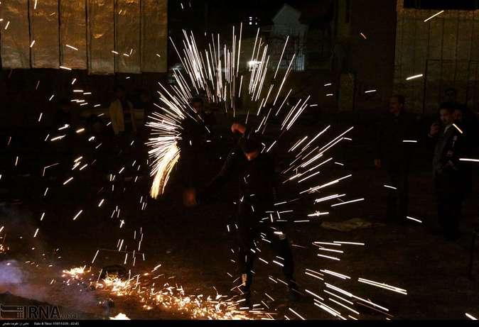 تصاویر| چهارشنبهسوری در استانها - 6