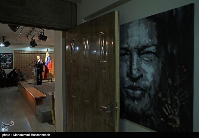 تصاویر| رسایی و اللهکرم در سفارت ونزوئلا - 6