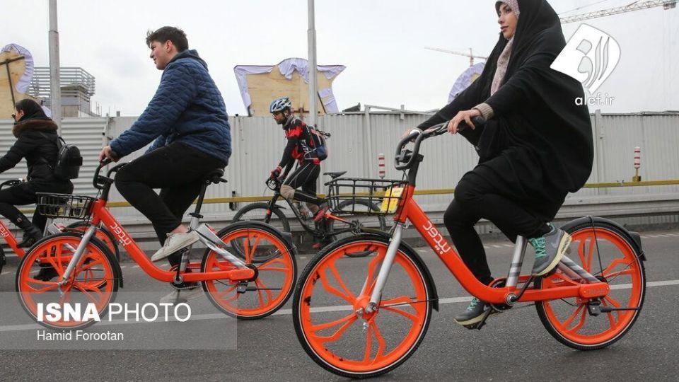 همایش بزرگ دوچرخه سواری در تهران - 19