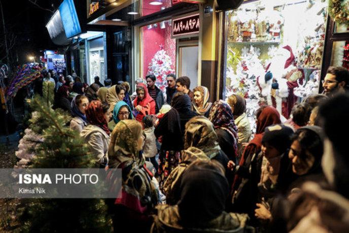 خرید کریسمس در تهران - 20
