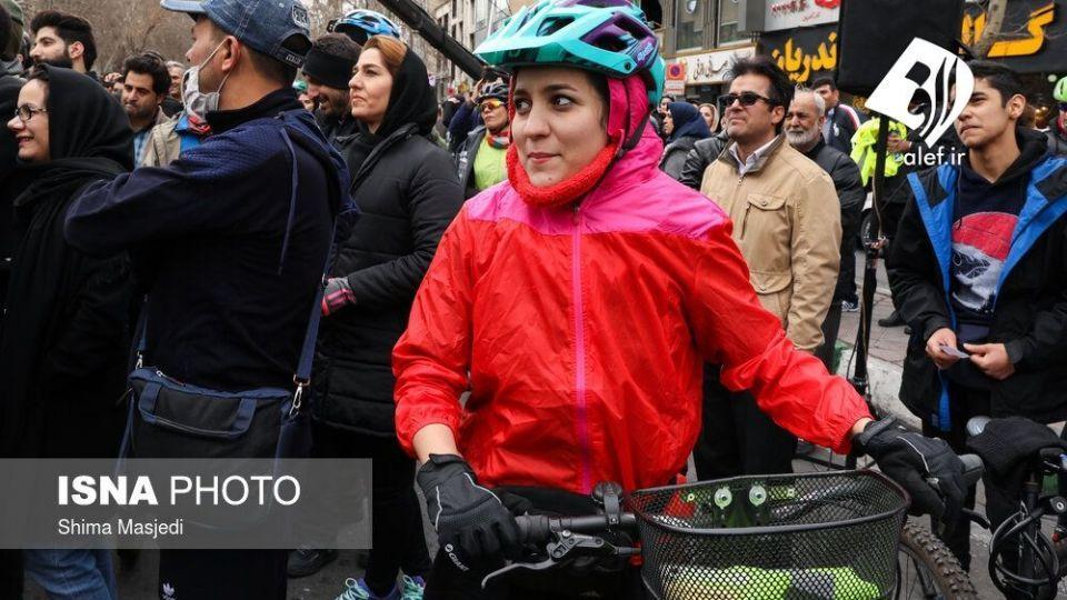 همایش بزرگ دوچرخه سواری در تهران - 34