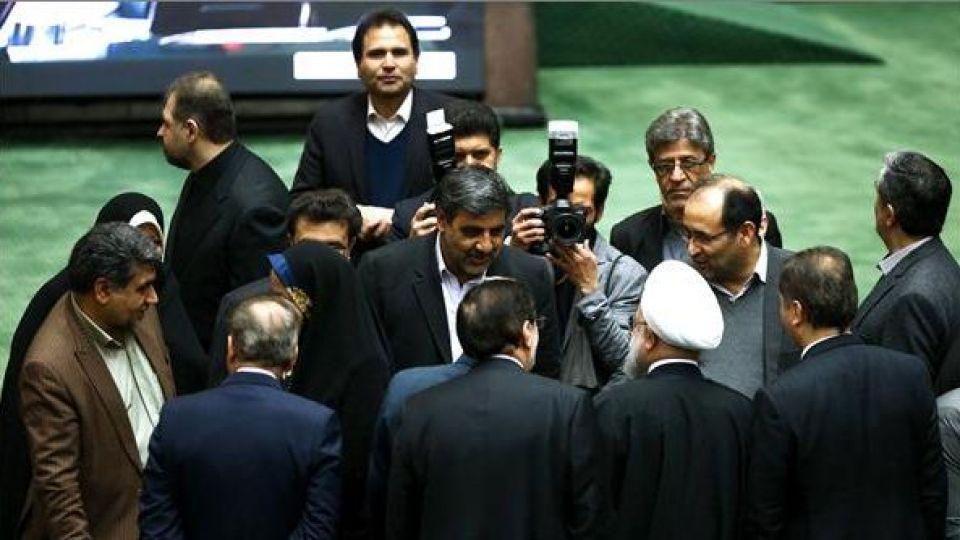 حضور رئیس جمهور در صحن علنی مجلس شورای اسلامی - 2