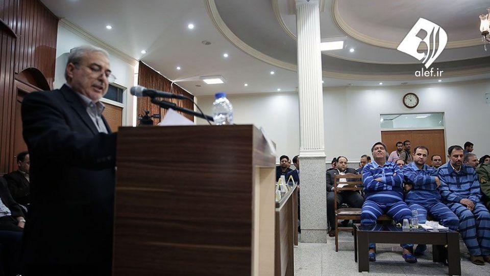 اولین جلسه دادگاه موسسه تعاونی اعتباری اعتماد ایرانیان در مشهد - 25