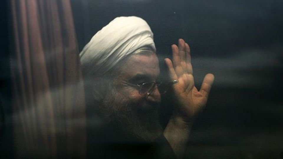 رئیسجمهور در قشم، مردم در سیل