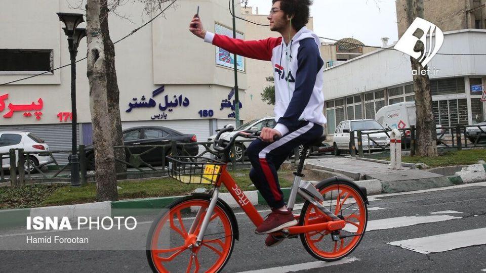 همایش بزرگ دوچرخه سواری در تهران - 24