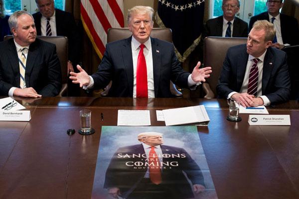 پوستر تهدیدآمیز ترامپ درباره تحریمهای ایران - 5