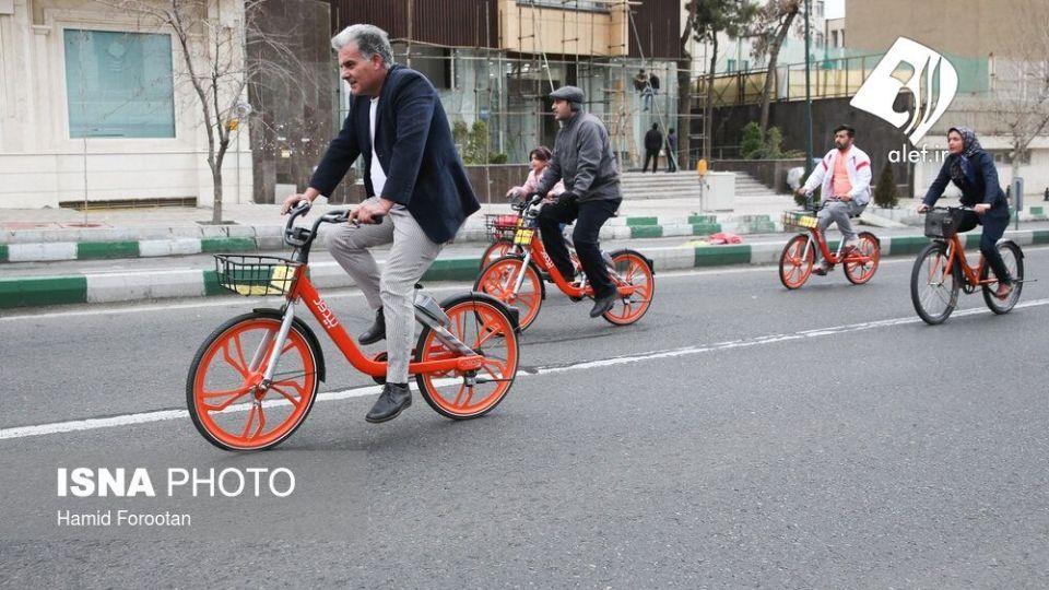 همایش بزرگ دوچرخه سواری در تهران - 10