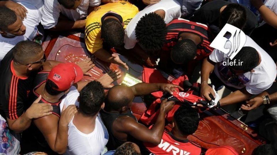 بازیکنان جوان در ورزشگاهی در برزیل در آتش سوختند. - 4