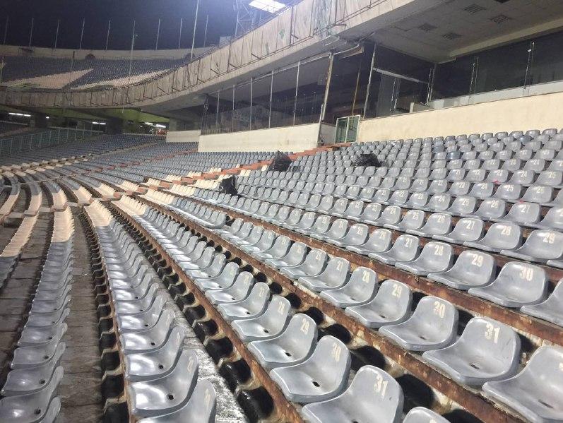 کار زیبای بانوان ایرانی در استادیوم آزادی - 6