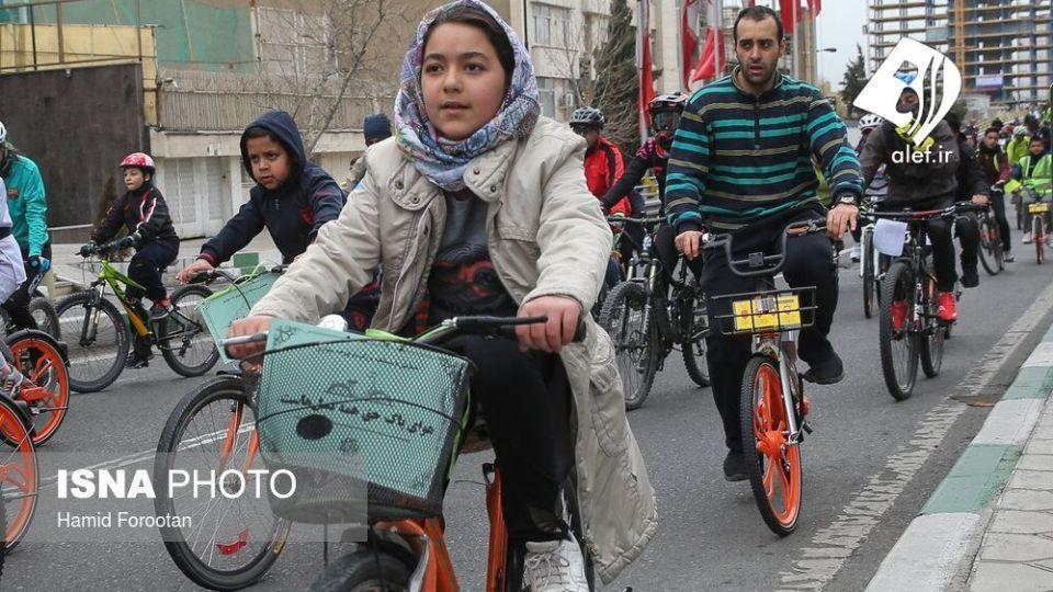 همایش بزرگ دوچرخه سواری در تهران - 9