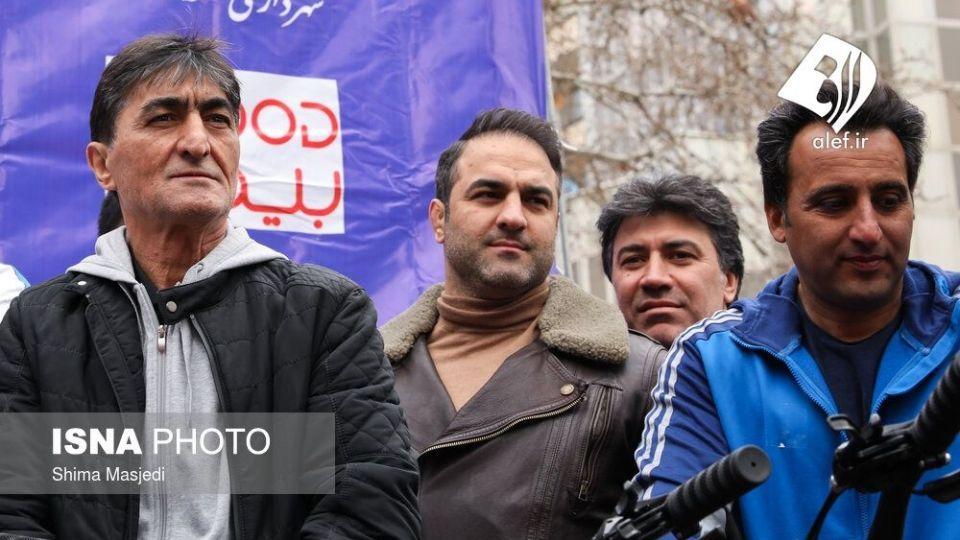 همایش بزرگ دوچرخه سواری در تهران - 30