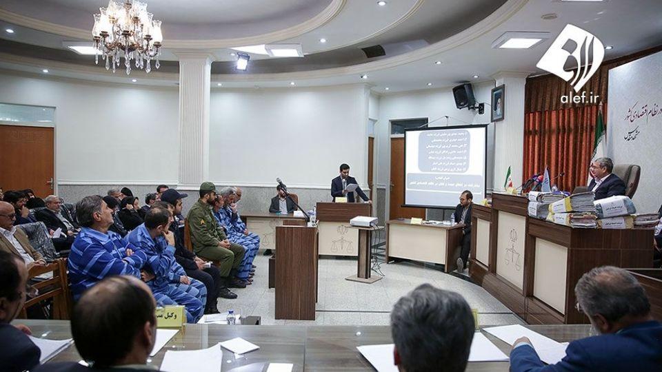 اولین جلسه دادگاه موسسه تعاونی اعتباری اعتماد ایرانیان در مشهد - 13