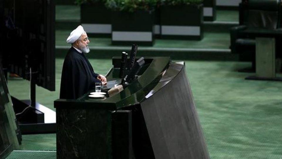 حضور رئیس جمهور در صحن علنی مجلس شورای اسلامی - 0
