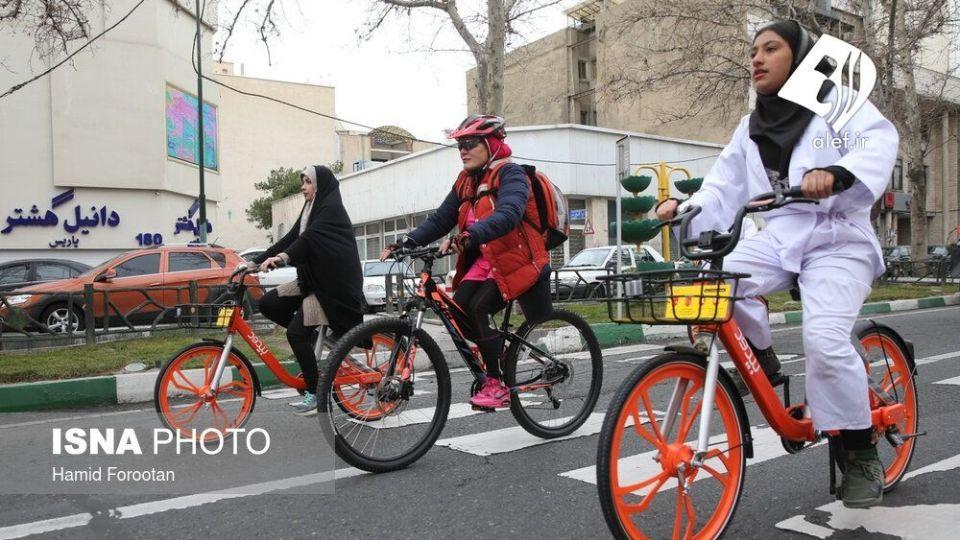 همایش بزرگ دوچرخه سواری در تهران - 23
