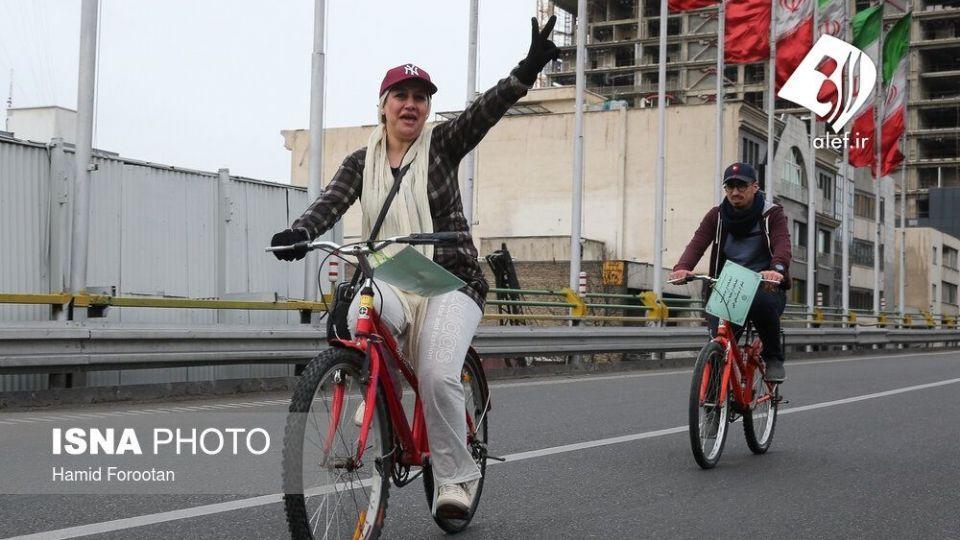 همایش بزرگ دوچرخه سواری در تهران - 20