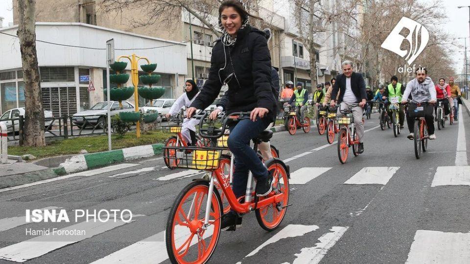 همایش بزرگ دوچرخه سواری در تهران - 21
