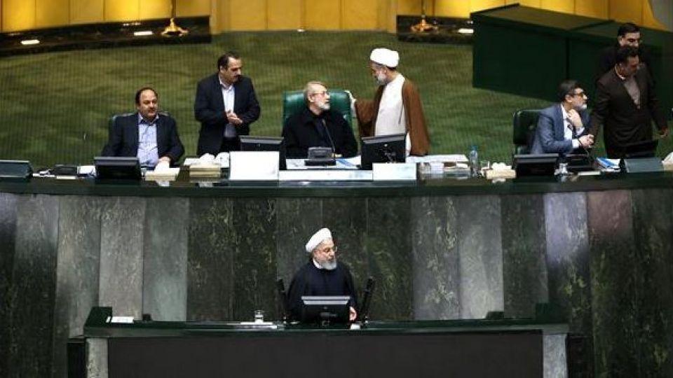 حضور رئیس جمهور در صحن علنی مجلس شورای اسلامی - 5