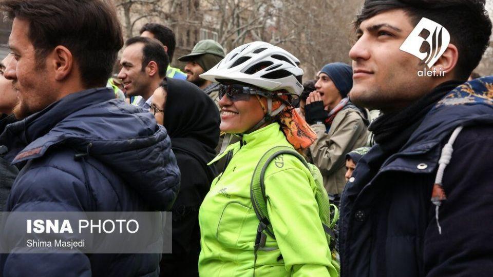 همایش بزرگ دوچرخه سواری در تهران - 32