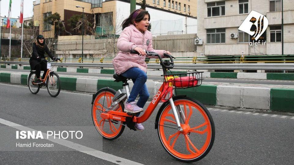 همایش بزرگ دوچرخه سواری در تهران - 14